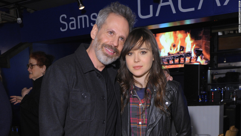 Josh Pais and Ellen Page at Village at the Lift.