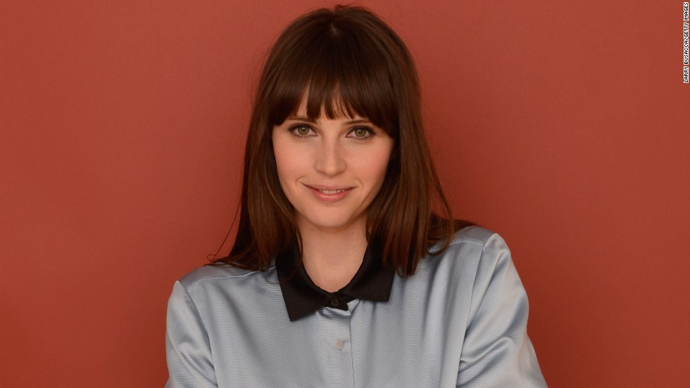 """Breathe In"" star Felicity Jones at Village at the Lift."