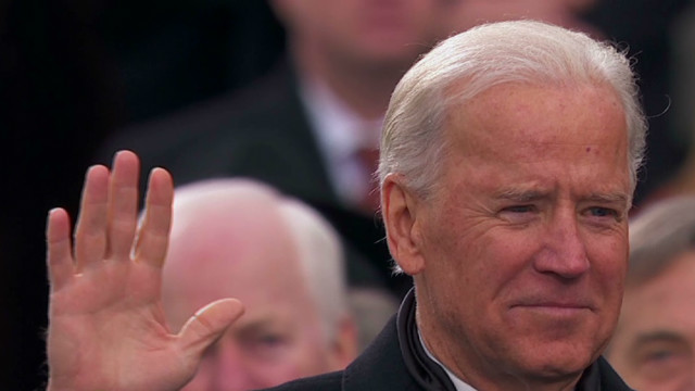 Biden takes oath of office for 2nd term