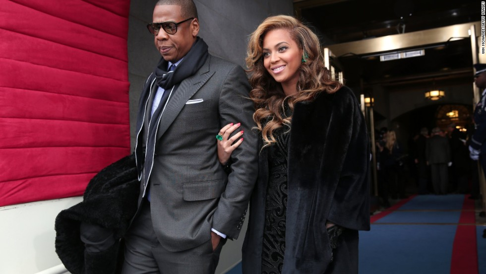 Jay-Z and Beyonce's daughter, Blue Ivy Carter, came in second on the list.