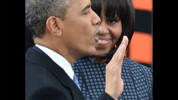 Obama takes the oath of office January 21. The nation