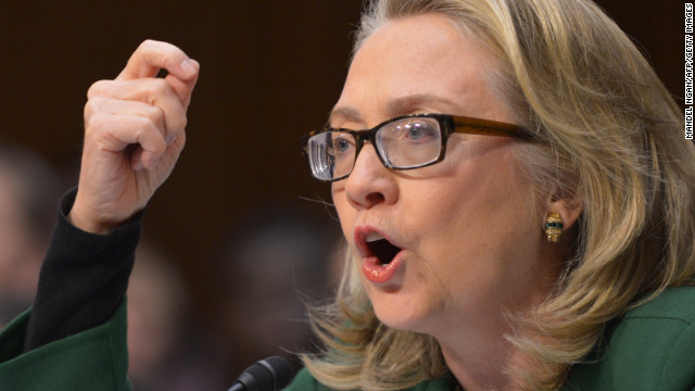Clinton's heated exchange over Benghazi