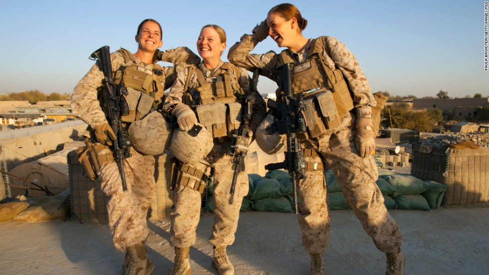 Female navy corpsman