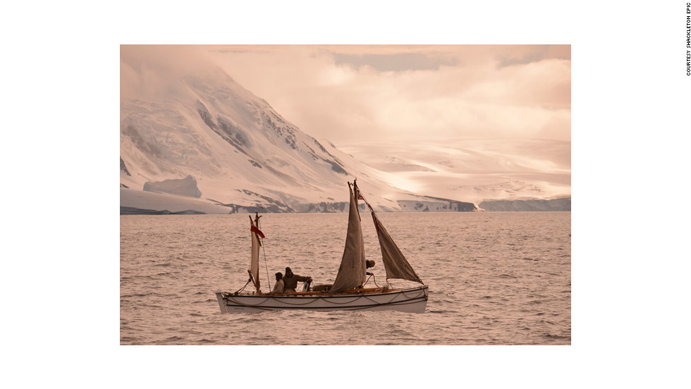 Nearly 100 years ago, explorer Ernest Shackleton managed to pull off a legendary Antarctic rescue. Now, a team of devoted adventurers have set sail in an effort to reenact his epic survival journey in a replica lifeboat (pictured).