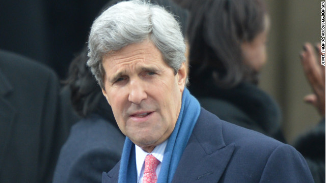 Kerry hopeful for transition in Syria