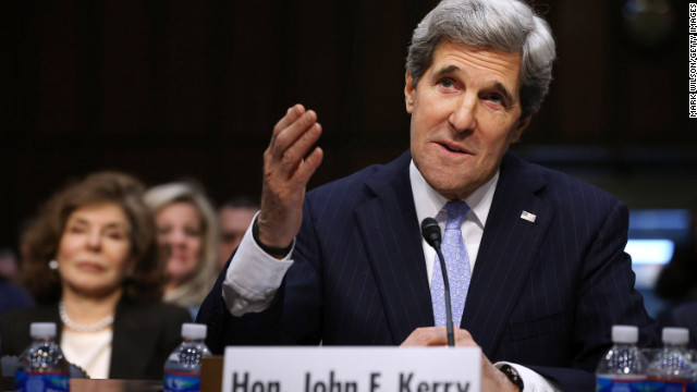 Kerry: Clinton and I agree on Benghazi