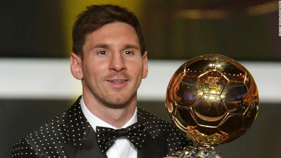 After winning an unprecedented fourth FIFA Ballon d'Or, is Lionel Messi the greatest player ever? Post a comment and let us know