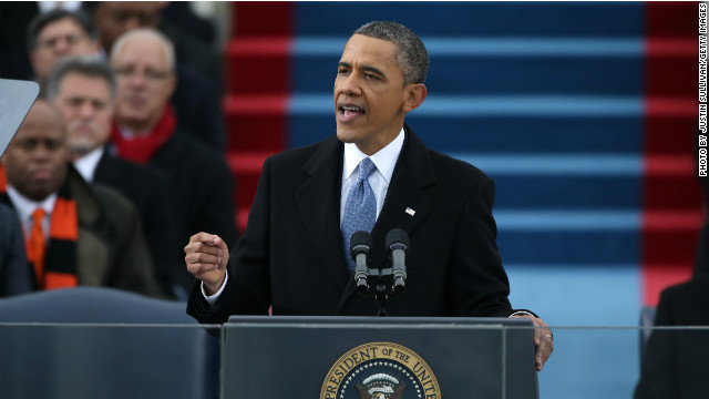 Many in GOP have slammed Obama's inauguration speech as liberal. Maria Cardona says his views align with most Americans
