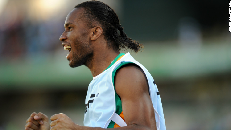 Former Chelsea star Drogba had been dropped from the starting line-up for the first time in his international career, having been taken off during his country's opening match after failing to impress.