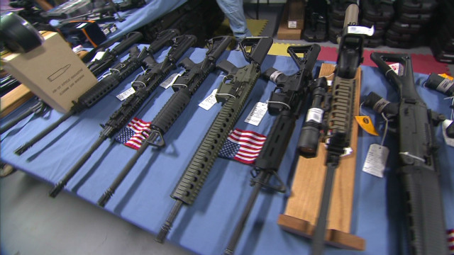 Crowds grow at gun shows