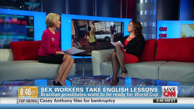 Sex workers take English lessons