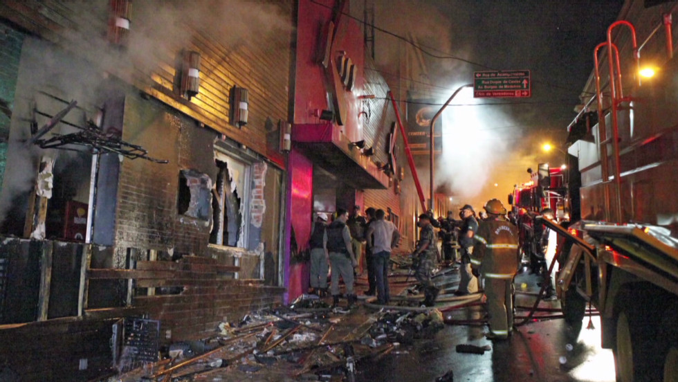 The Station Nightclub Fire Aftermath
