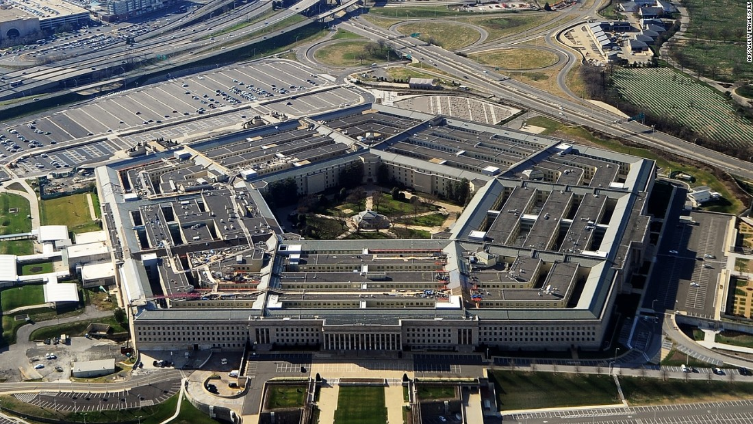 Man arrested after attempting to blow up vehicle outside Pentagon, police say