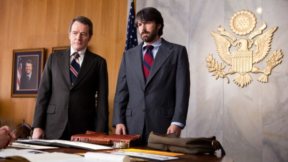 """""""The craft in this film is rare,"""" Ebert wrote of """"Argo,"""" a movie about the Iranian hostage crisis. """"It is so easy to manufacture a thriller from chases and gunfire, and so very hard to fine-tune it out of exquisite timing and a plot that"""