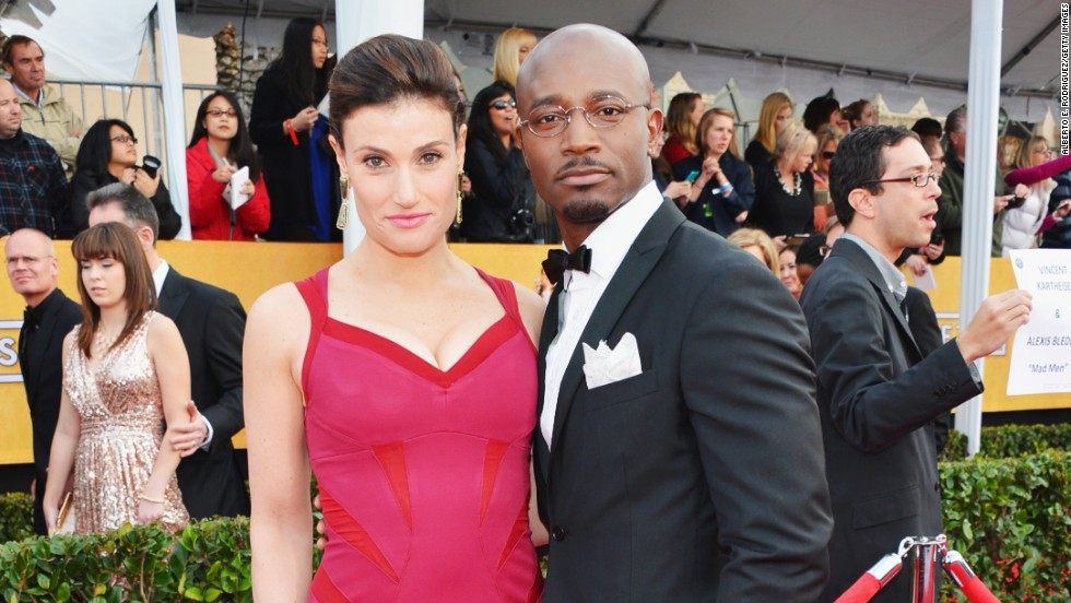 "Actors Idina Menzel and Taye Diggs surprisingly decided to separate after 10 years of marriage, <a href=""http://www.people.com/people/article/0,,20764701,00.html"" target=""_blank"">a rep for the couple confirmed to People magazine</a> in December 2013. The couple's son, Walker, was born in 2009."