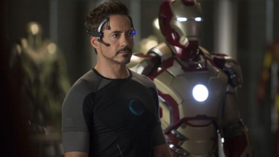 "Robert Downey Jr. stars as Tony Stark in ""Iron Man 3."""