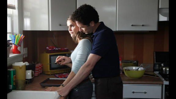 """Keri Russell and Matthew Rhys star as married Russian spies with a family in the FX series """"The Americans."""""""