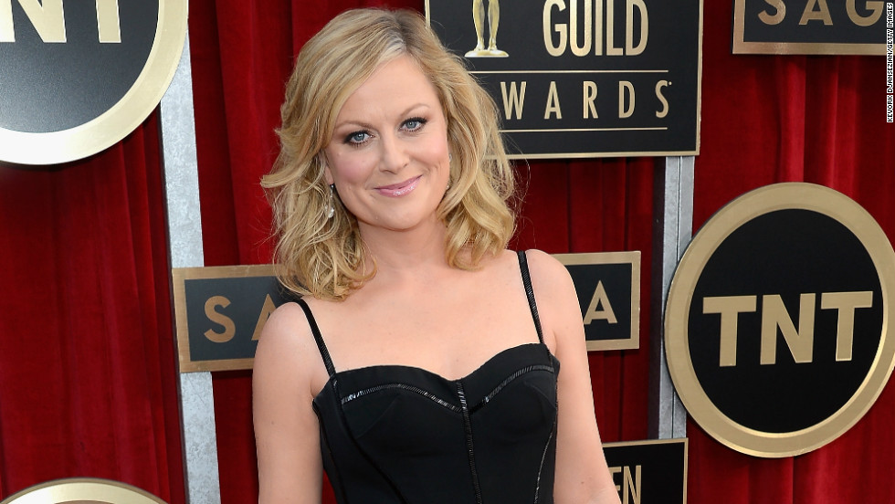 "With her improv background and impeccable comedic timing, Amy Poehler, as TV critic Ken Tucker notes, would make a perfect host ... if only she'd step away from her critically adored prime-time comedy, ""Parks and Recreation."" Now that the show is wrapping up, our fingers are crossed."