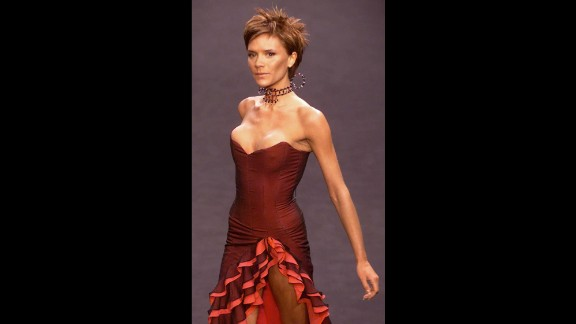 1999: Victoria Beckham starts the blink-and-it