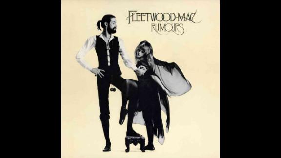 "Fleetwood Mac's ""Rumours"" album won the 1977 Grammy Award for album of the year."