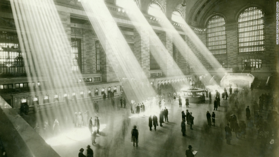 After 10 years of construction, Grand Central Terminal opened on February 1, 1913. The first train pulled out at 12:01 a.m. on Sunday, February 2, 1913. More than 150,000 people visited the new terminal on opening day.