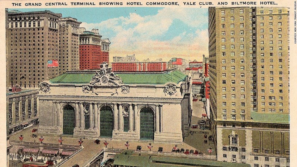 During the 1940s and 1950s, the terminal starred on postcards ...