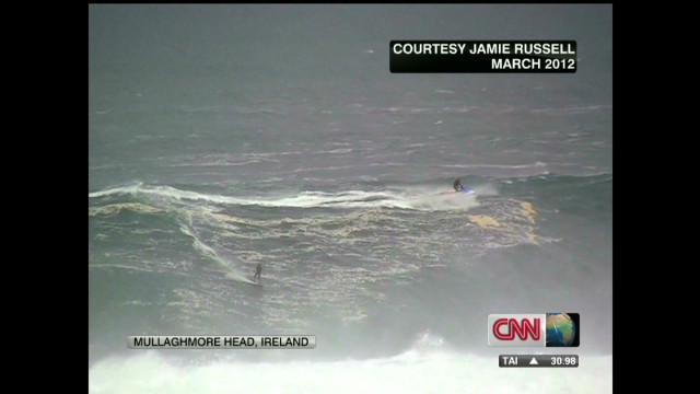Big wave surfer talks to CNN