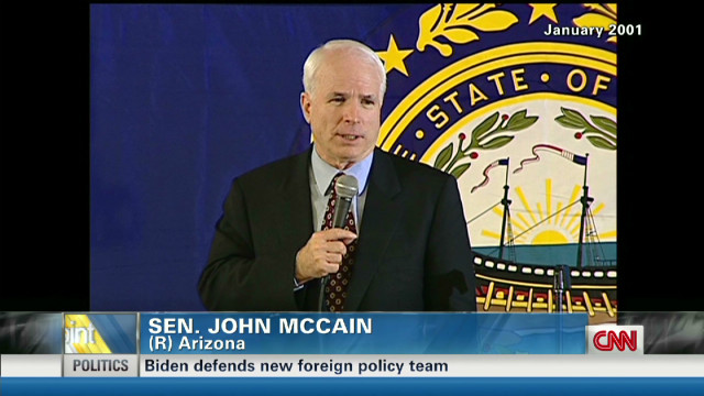 McCain and Hagel's complicated history