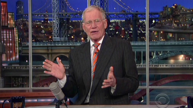 Letterman's Top 10 mocks CNN