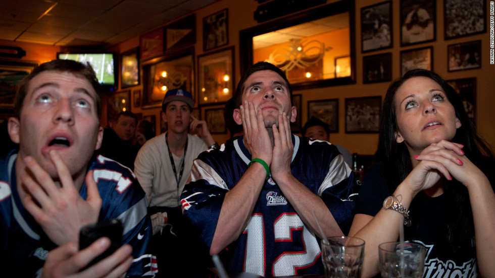 "Super Bowl XLVI, held on February 5, 2012, was the <a href=""http://www.hollywoodreporter.com/live-feed/super-bowl-ratings-giants-patriots-287279"" target=""_blank"">most-watched program</a> in U.S. television history: 111.3 million people watched the New York Giants defeat the New England Patriots."