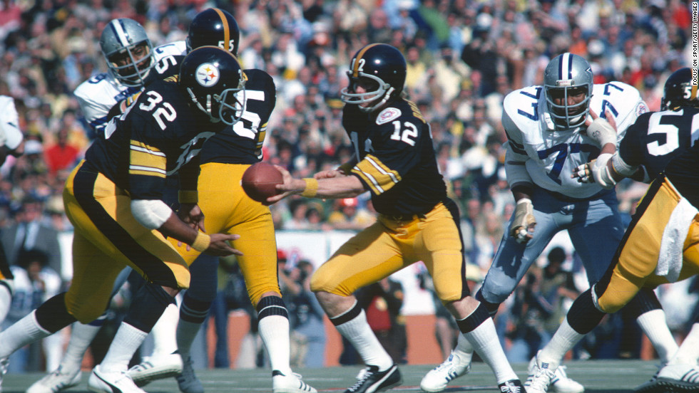 "The Pittsburgh Steelers and the Dallas Cowboys share the most <a href=""http://www.nfl.com/superbowl/records/superbowls/team/games"" target=""_blank"">appearances at the Super Bowl</a>, with eight each.  The two teams went head to head in 1976 at Super Bowl X."