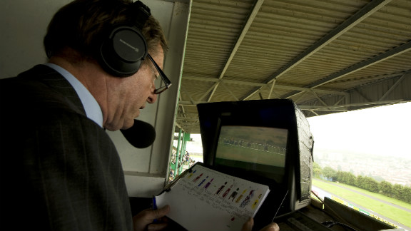 """Horse racing commentator Derek Thompson was called in to negotiate with the kidnappers. """"When we arrived in Belfast there were hundreds of reporters, it was like we were film stars,"""" he said."""