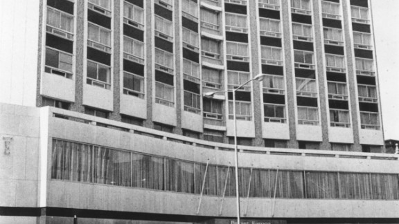 Thompson, along with horse racing journalists John Oaksey and Peter Campling stayed at the Europa Hotel in Belfast, known as the 'most bombed hotel in Europe.'