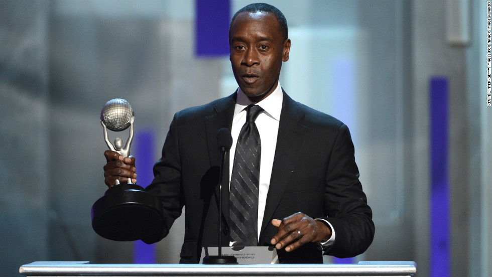 "Don Cheadle won Actor in a Comedy Series for ""House of Lies."""