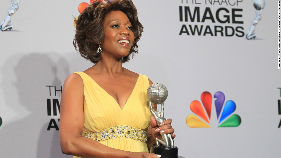 "Alfre Woodard won Actress in a Television Movie, Mini-Series or Dramatic Special for ""Steel Magnolias."""