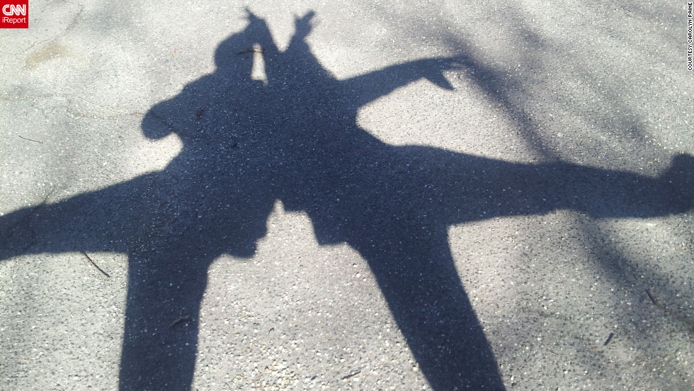 "Both professional dancers, <a href=""http://ireport.cnn.com/docs/DOC-919557"" target=""_blank"">iReporter Carolyn Paine</a> and friend Alex Zarlengo couldn't resist dancing for their shadow photo. ""After taking the photo we ended up just dancing around with our shadow selves,"" she said. ""Personally, I want spring to come as soon as possible. I hate the dark, cold winter."""