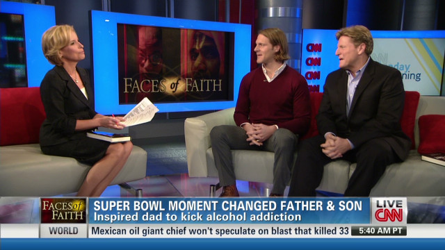 Super Bowl moment changed father and son
