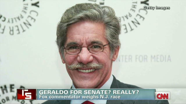 Geraldo for Senate? Really?