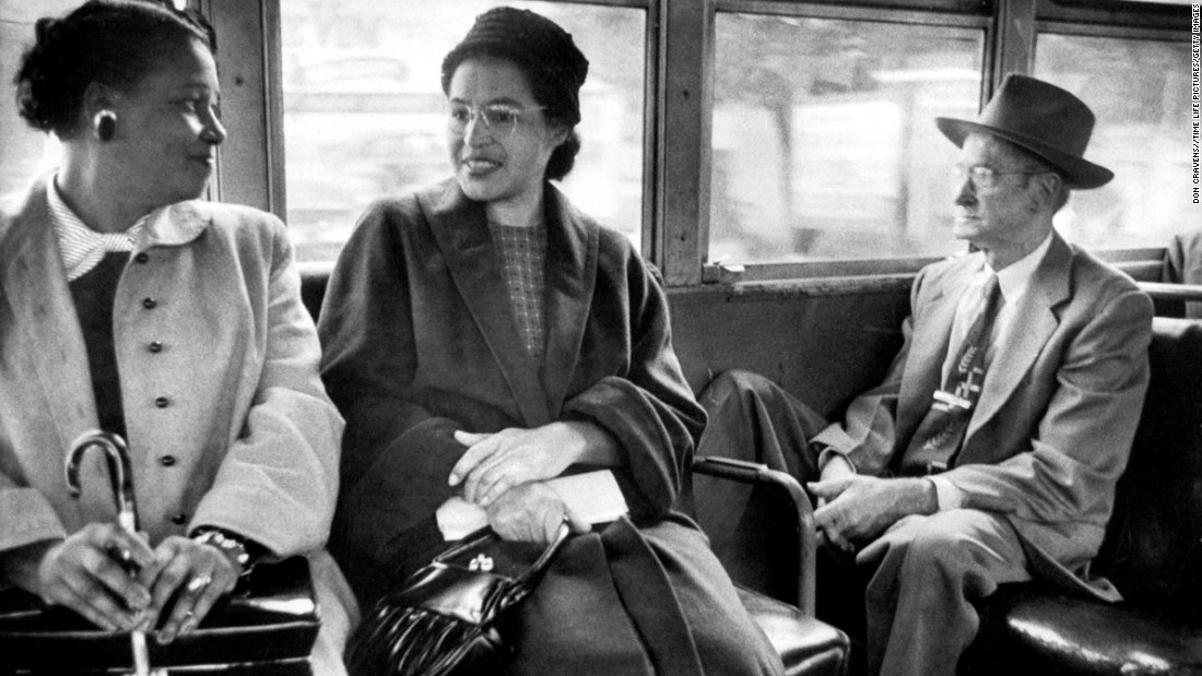 the women who changed the world rosa parks an african american civil rights activist Claudette colvin (b  her arrest preceded civil rights activist rosa parks ' (on december  an african-american woman boarded a city bus .