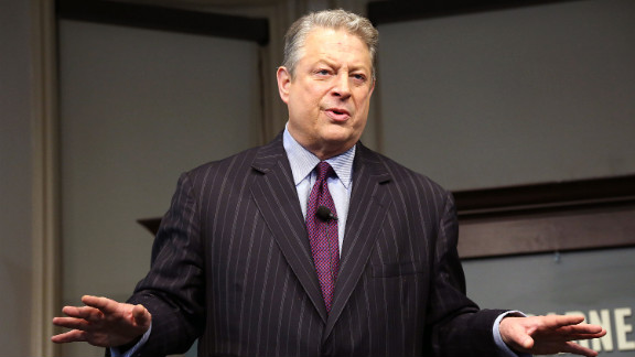 """Former vice president Al Gore promotes his new book, """"The Future"""" on January 30, 2013 in New York City."""