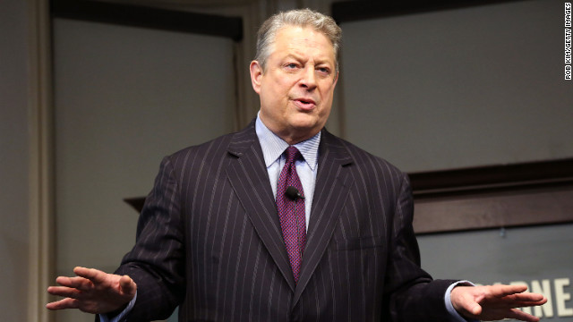 "Former vice president Al Gore promotes his new book, ""The Future"" on January 30, 2013 in New York City."