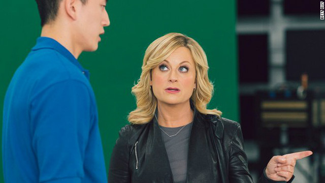 In an ad for Best Buy, Amy Poehler fires off questions about all kinds of consumer tech -- from the cloud to LTE to dongles.
