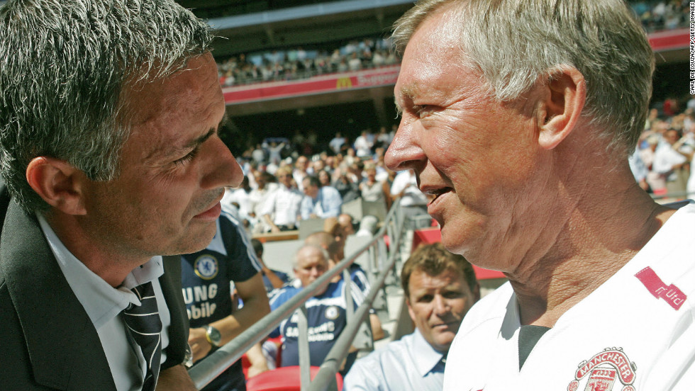 Mourinho and Ferguson share a respectful relationship, with the pair having faced each other on numerous occasions during the Portuguese's first spell as Chelsea manager.