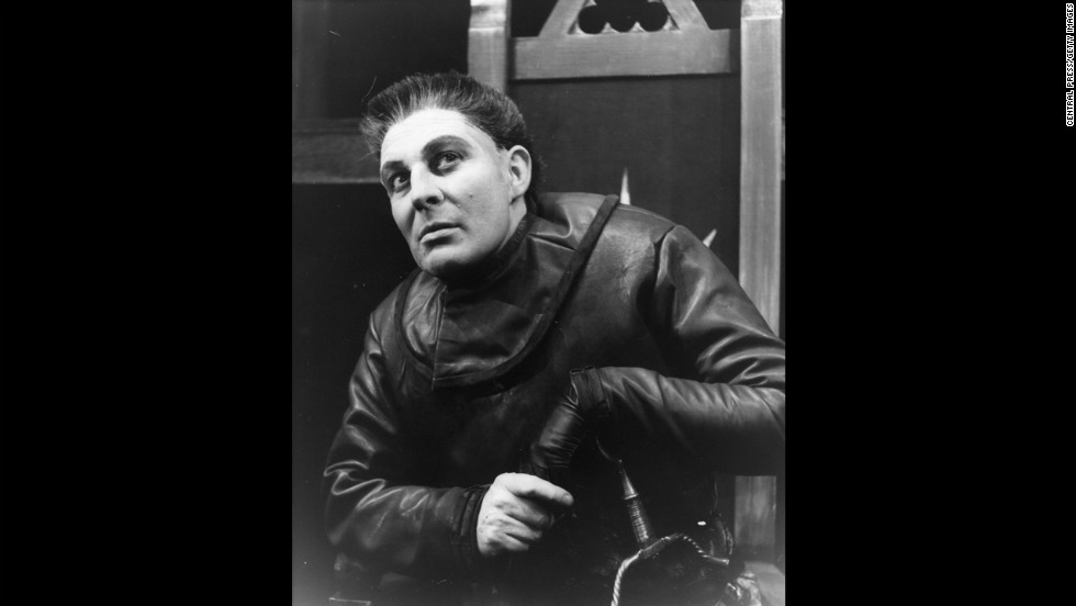 Paul Daneman as Richard III, 1962.