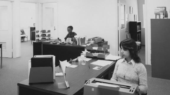 Like decades earlier, most women today work as secretaries.