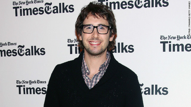 Josh Groban attends TimesTalks Presents: Josh Groban at TheTimesCenter on Friday in New York City.