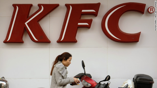 A KFC is pictured in China on January 9, as customers said they would patronise it despite a food safety investigation.