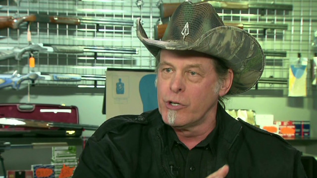 Ted Nugent: Leave good gun owners alone