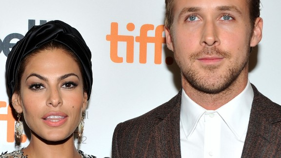 """""""The Place Beyond the Pines"""" co-stars Eva Mendes, 40, and Ryan Gosling, 33, have been attached since 2011."""