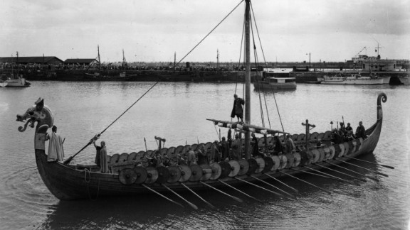 Historians largely agree the vikings reached America before Columbus, around 900AD, with early settlements discovered in Newfoundland.